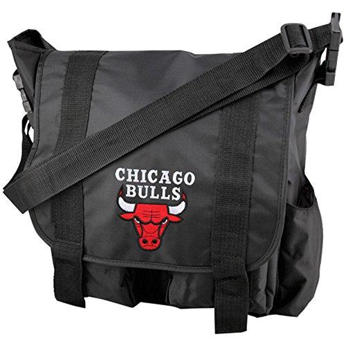 NBA Chicago Bulls Team Logo Diaper Bag with Changing Pad