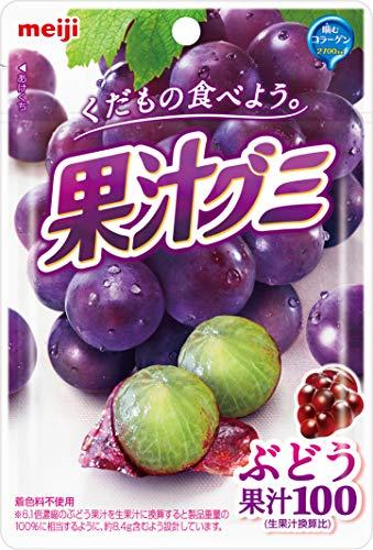 果汁グミ ぶどう 51g 10個