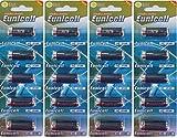 Eunicell - Pilas alcalinas (20 unidades, LR1/N/Lady 1,5 V, 4 paquetes de 5 pilas)