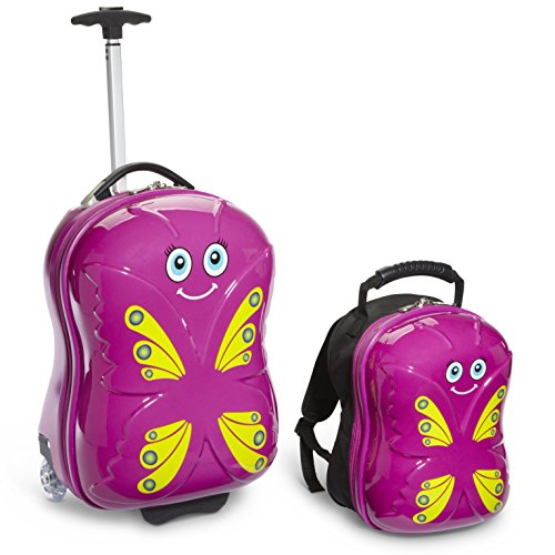 Travel Buddies Bella Butterfly, Magenta
