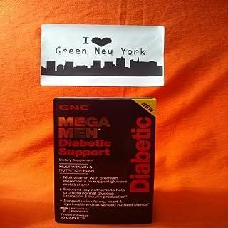 GNC Mega Men Diabetic Support 90 Caplets by GNC