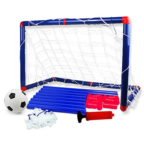 gelentea portable kids football goal
