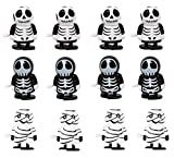 HAPTIME Halloween Wind-up Toy,Party Favor,Clockwork Toy,Goodie Bag for Carnival Prizes Classroom (Mummy, Skeleton Man,Ghosts)
