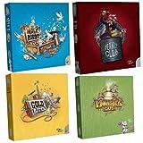 PKGamePack La gama Coffee Break! Magic Rabbit + Peanut Club + Monster Café + Gold River – Versión francesa