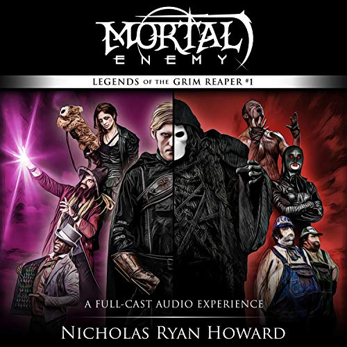 Mortal Enemy Audiobook By Nicholas Ryan Howard cover art