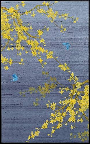 Fine Asianliving Chinees Schilderij Wanddecoratie Oosterse Stijl Artwork in Lijst Decoratief - 230-123