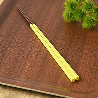 La-Luz (ラ・ルース) にっぽんの伝統色箸 蒲公英色(たんぽぽいろ) サイズ:長さ約23 107684