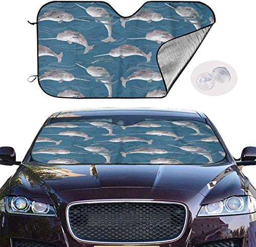 Kejbr Front Car Sonnenschutz Frontscheibe Bottlenose Dolphin Auto Shade for Car Foldable UV Ray Reflector Auto Front Window Sun Shade Visor Shield Cover, Keeps Vehicle Cool (51.2""\"" X 27.5""\"")500482|?|False|0aff9fd303a6b25e6635d45cc6e51d40|False|UNLIKELY|0.3579430878162384
