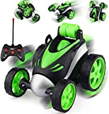 BlackZone R.C Cars Stunt Car, 4WD 2.4GHz Double Sided Rotating 360 Flips Vehicles, Drift High-Speed Off-Road Stunt Truck Toys for 3 4 5 6 7 8-12 Year Old Boy Toys Birthday Gifts Multicolor