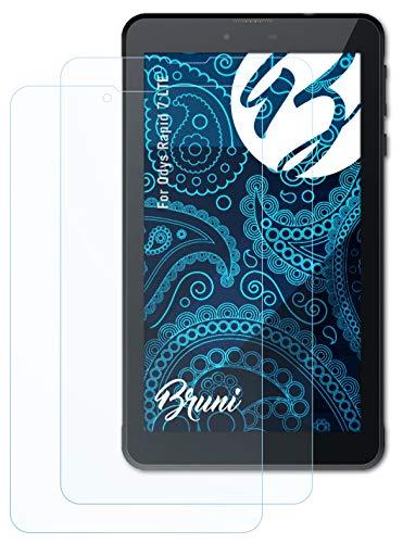 Bruni Schutzfolie kompatibel mit Odys Rapid 7 LTE Folie, glasklare Bildschirmschutzfolie (2X)