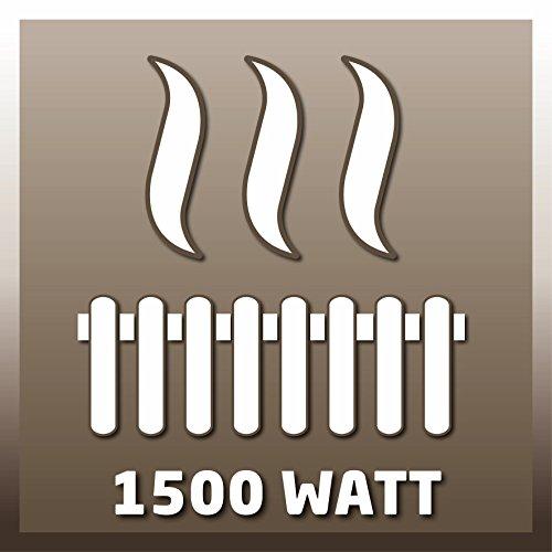 Einhell Design Halogen Heizung IHS 1500 (1500 Watt, Fernbedienung, verstellbar bis 220 cm, LED-Beleuchtung für Außenbereich, Stand- und Wandgerät) - 8