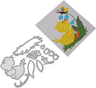 Mikilon Metal Die Cutting Dies Cut Handmade Stencils Template Embossing for Card Scrapbooking Craft Paper Decor Window Teapot Criss Cross Leaf Monster (B)