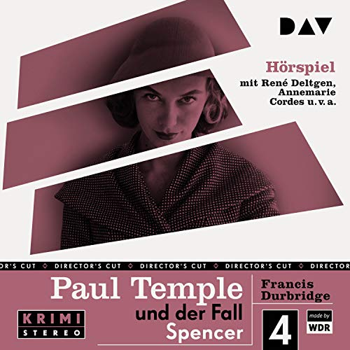 Paul Temple und der Fall Spencer. Original-Radio-Fassung cover art