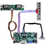 GeeekPi NT68676 HDMI+VGA+DVI+Audio Input LCD Controller Driver Board or HSD190MEN4 M170EN06 17' 19' 1280x1024 4CCFL 30Pins LCD Panel,Fit for Arcade1Up Monitor