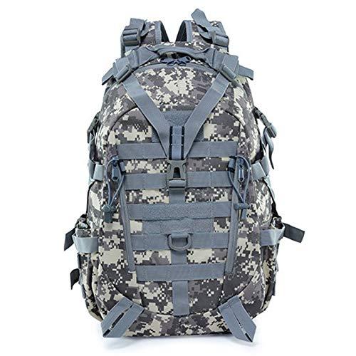 40L 15L Camping Backpack Bag Men Travel Bags Climbing Rucksack Hiking Outdoor Sport gym backpack hiking bags rucksacks for men backpack mens bike (Capacity : 30 40L, Color : ACU)