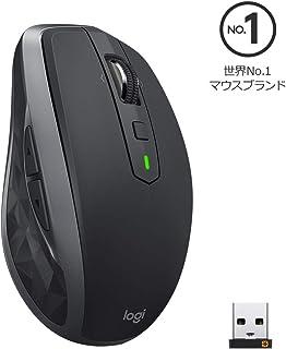 Logicool ロジクール MX1600sGR ANYWHERE 2S ワイヤレス モバイルマウス グラファイト FLOW Bluetooth/USB接続 Windows・Mac対応 レーザー採用