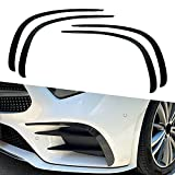 ベンツ CLSクラス C257 2018-2020用 フロント バンパー リップ スポイラー カバー トリム ステッカー 見栄え 装飾 グレードアップ エアロ カスタム パーツ カーボン調
