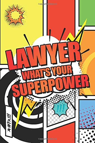 Lawyer Whats your Superpower: Lawyer Dot Grid Notebook, Planner or Journal