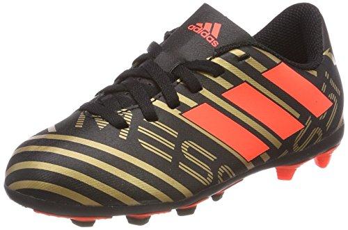 adidas Nemeziz Messi 17.4 FxG, Scarpe da Calcio Unisex-Adulto, Nero (Cblack/Solred/Tagome Cblack/Solred/Tagome), 38 EU