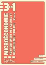 Livres Microéconomie, comportement des agents et concurrence parfaite - 2e édition : 3 en 1 PDF