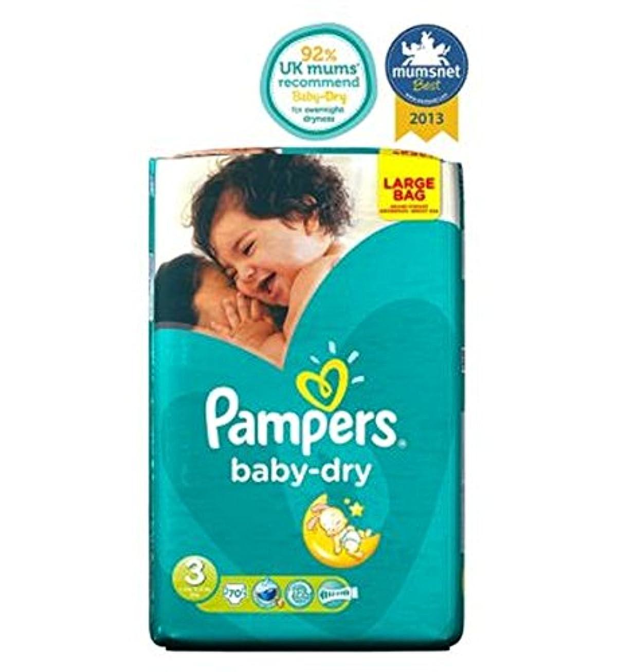 傑出した希少性目立つPampers Baby-Dry Nappies Size 3 Large Ba70 Nappies - パンパースベビードライおむつサイズ3大Ba70おむつ (Pampers) [並行輸入品]