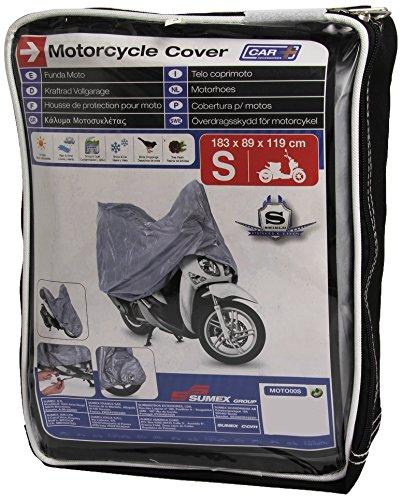 SUMEX Moto00S Carplus - Telo CopriMoto PVC - S - 183X89X119 Cm