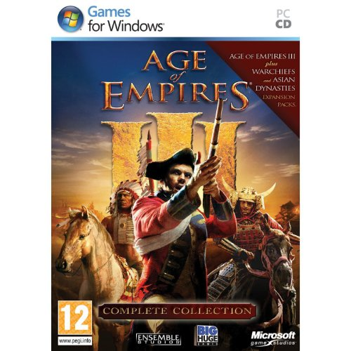 Age of empires III - édition complète : jeu + 2 extensions