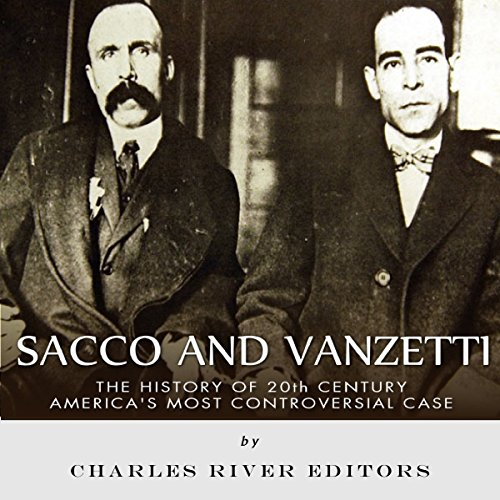 Sacco and Vanzetti audiobook cover art