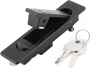 Zwarte Metalen Comité Lock Lockset voor Ijzer Distributie Kabinet w Twee Sleutel