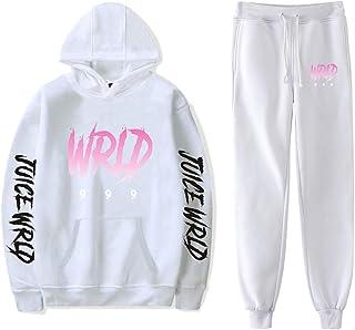 Unisex Hoodie Hip Hop Sweatpants Suit Pants Two-Piece Sweatshirt Sport Sweater Set for Men Women
