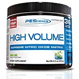 PEScience High Volume, 36 Scoops, Kiwi Lime, Nitric Oxide Pre Workout...