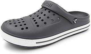 AMOJI Zuecos de jardín Unisex Zapatos Sandalias Zapatillas Mules CL1820