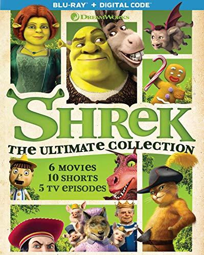 Shrek: The Ultimate Collection - Blu-ray + Digital