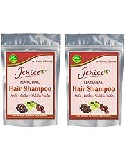 Jenice Natural Hair Wash Amla Reetha Shikakai Powder 250 grams