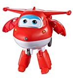 Super Wings- Superwings Record'N'Talk Jett – Figura transformable Registro & Habla (Auldey YW711410)