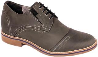 Max Denegri Zapato Casual Trend Gris Petroleo 7cms De Altura