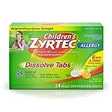 Zyrtec Children's Allergy Orally Disintegrating - 24 Tablets, Pack of 2