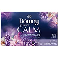 200-Count Downy Infusions Fabric Softener Dryer Sheets