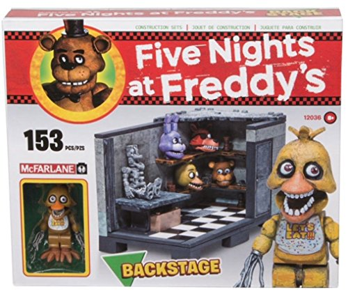 Five Nights at Freddy's Bauset Back Stage