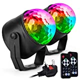Ecoastal Party Disco Lights DJ Ball Strobe Led Rotating 7 Colorful Effects 3