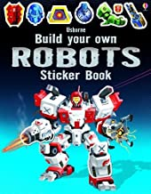 Build Your Own Robots Sticker Book (Build Your Own Sticker Books)