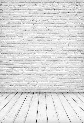 Textura de Suelo de Tablero de Madera Vieja Telón de Fondo Vintage Baby Doll Retrato Fotografía Fondo Estudio fotográfico Fotófono A14 10x10ft / 3x3m