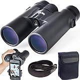 LTJY 8x32 Binocolo per Adulti,HD Compatto Binocolo per Osservare Gli Uccelli Viaggi Guardare Le Stelle Concerti di Caccia Sport con Visione Chiara Debole,Obiettivo BAK4 Prism FMC con Tracolla