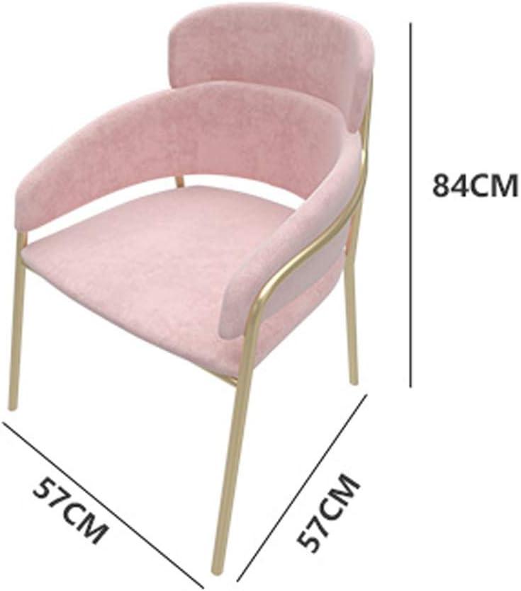 HXF- Chaise de Salle, Chaise de Bureau Simple, créative Dossier, Chaise Loisirs, Maison Adulte Chaise de Salle Durable (Color : Yellow) Yellow