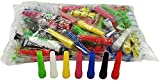 MASOTEC ⭐⭐⭐⭐⭐ Hygiene Mundstücke für Shisha & Wasserpfeife   100 Stück   5,8 cm   Einweg Mundstücke   Direkt vom Hersteller   Hookah Mouth Tips