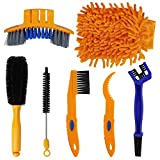 <span class='highlight'><span class='highlight'>MaoXinTek</span></span> Bike Cleaning Tool Set 7 Pieces Chain Cleaner Brush Kit for Road Bicycle Mountain Cycling
