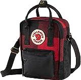 Fjallraven, Kanken Re-Wool Sling Backpack, Red-Black