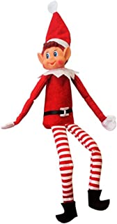 12 Inch Long Leg Soft Body Vinyl Face Elf With Hat & Tag
