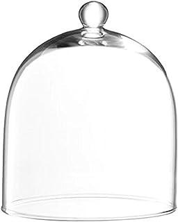 LSA International Vienna Dome, Glass, Clear, 14 cm