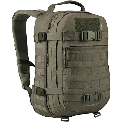 WiSPORT® SPARROW Zaino 20 litri | Militare | Cordura | MOLLE | Pesce | Escursionismo, camuffamento:RAL-7013
